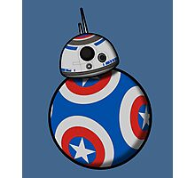 Captain Ameribot Photographic Print