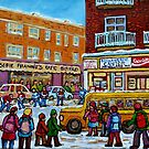 MONKLAND VILLAGE MONTREAL MEMORIES  by Carole  Spandau