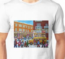 MONKLAND VILLAGE MONTREAL MEMORIES  Unisex T-Shirt