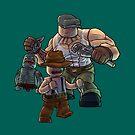 The Goon as Toy Bricks by JordanMDalton