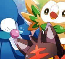 Pokemon - Popplio, Litten, Rowlet Sticker