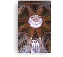 Ely Cathedral Ceiling. Cambridgeshire, UK Canvas Print