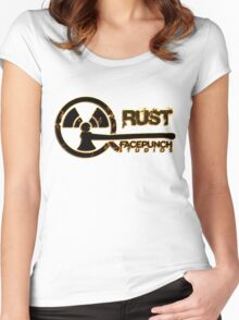 Rust Old Fashion Women's Fitted Scoop T-Shirt