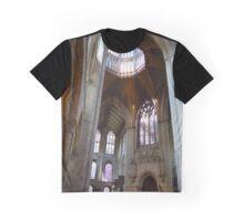 Ely Cathedral Inside. Cambridgeshire, United Kingdom Graphic T-Shirt