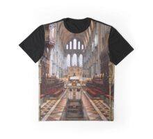 Service Area, Ely Cathedral, Cambridgeshire, UK Graphic T-Shirt