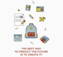 Create the future! Kids Tee