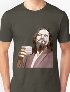 Big Lebowski DUDE Portrait Unisex T-Shirt