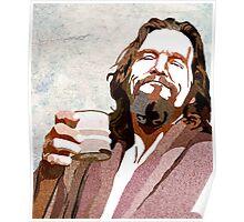 Big Lebowski DUDE Portrait Poster