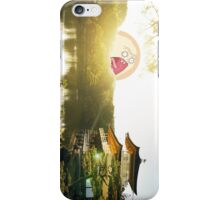 SCREAMING SUN JAPANESE RIVER RICK AND MORTY iPhone Case/Skin