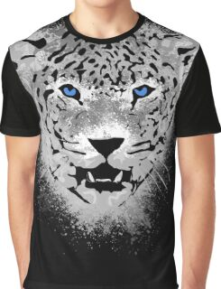 White Tiger - Paint Splatters Dubs Graphic T-Shirt