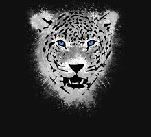 White Tiger - Paint Splatters Dubs T-Shirt Stickers Art Prints Womens Fitted T-Shirt