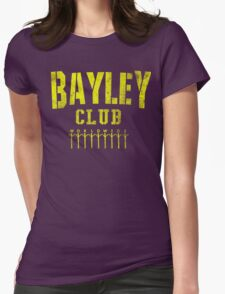 Bayley Club  Womens Fitted T-Shirt