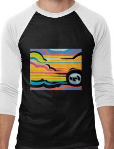 Fast Car - Abstract Graphic Men's Baseball ¾ T-Shirt