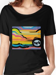 Fast Car - Abstract Graphic Women's Relaxed Fit T-Shirt