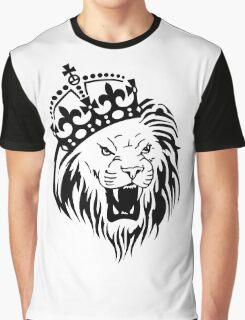 Crown Lion Graphic T-Shirt