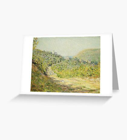 Claude Monet - Aux Petites Dalles 1884 Greeting Card