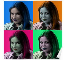 Mindy Kaling Pop Art Poster