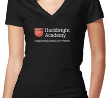 Hackbright Gear Women's Fitted V-Neck T-Shirt