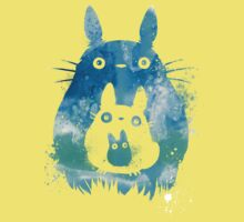 My Neighbor Totoro Watercolor  Kids Tee