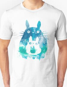 My Neighbor Totoro Watercolor  Unisex T-Shirt