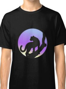 Cougar on a tree Classic T-Shirt