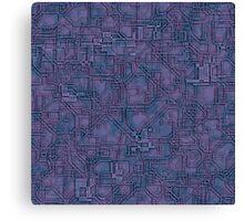 SiliconoCamo 10 Canvas Print
