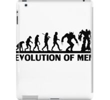 Evolution of Men iPad Case/Skin
