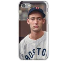 Ted Williams - Colorized Portrait iPhone Case/Skin