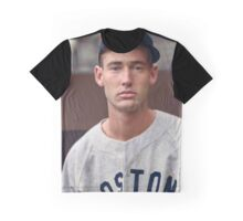 Ted Williams - Colorized Portrait Graphic T-Shirt