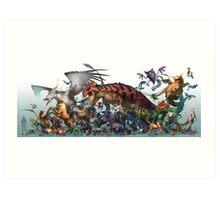 Pocket Animals-Season 1 Art Print