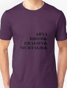 Eragon names Unisex T-Shirt
