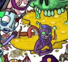monsters Sticker