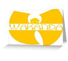 WU-KANDA Greeting Card