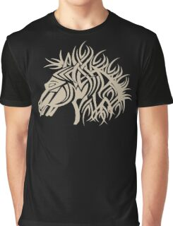 Tribal Horse Cool Vector Tshirt  Graphic T-Shirt