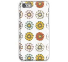 Trendy Colorful Floral Design  iPhone Case/Skin