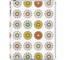 Trendy Colorful Floral Design  iPad Case/Skin