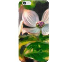 Dogwood Blossoms On A Branch iPhone Case/Skin