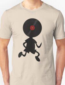 Vinyl Man! Vinylized!!! Vinyl Records DJ Retro Music Lovers T-Shirt Stickers Prints T-Shirt