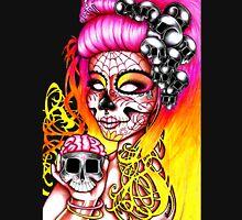 Dai de los Muertos, Twins Pink Unisex T-Shirt