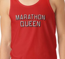Marathon Queen Geeky TV Shows Fan Funny Tank Top
