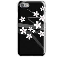 Sakura Cherry Tree Beautiful Oriental Vector Illustration iPhone Case/Skin