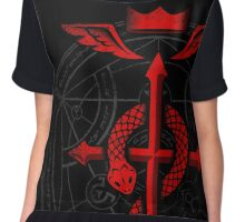 Full of Alchemy - Fullmetal Alchemist Flamel Chiffon Top