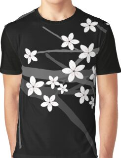 Sakura Cherry Tree Beautiful Oriental Vector Illustration Graphic T-Shirt