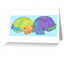 Cuddle Fish Greeting Card