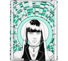 space girl mint iPad Case/Skin