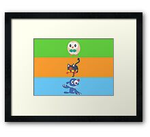 Sun and Moon- Starters  Framed Print