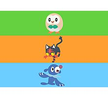 Sun and Moon- Starters  Photographic Print