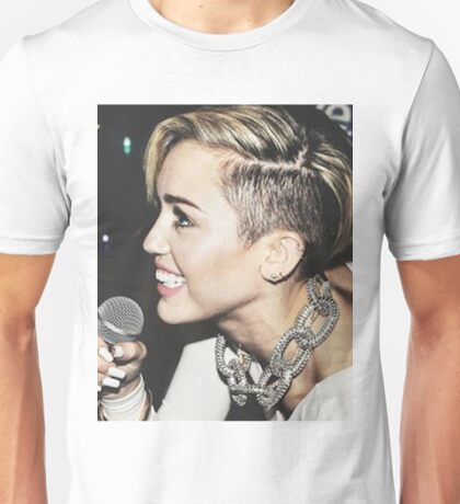 Miley Cyrus - 2013 Candid Unisex T-Shirt