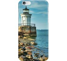 Maine Lighthouses- the Bug Light iPhone Case/Skin
