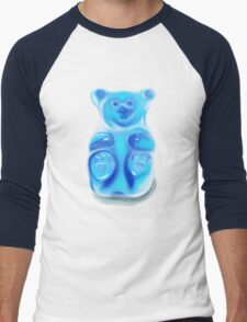Barry; the Very Berry Flavored Bear Men's Baseball ¾ T-Shirt
